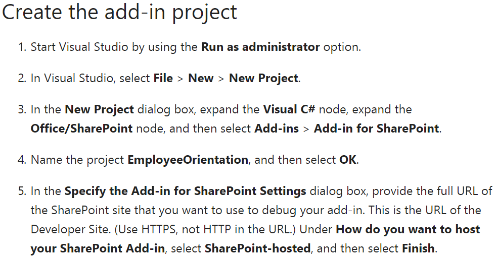 Developing SharePoint Hosted Add-ins – Automasean